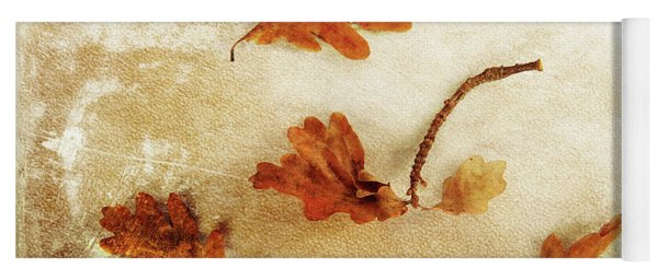 Yoga Mat featuring the photograph Autumn Twist by Randi Grace Nilsberg