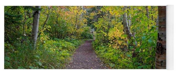Autumn Woods Yoga Mat