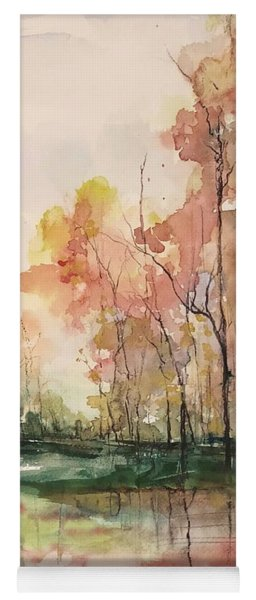 Autumnal Equinox Yoga Mat