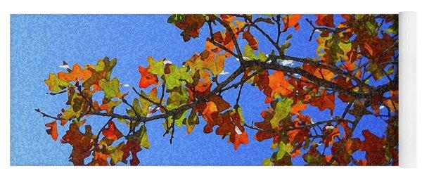 Autumn's Colors Yoga Mat