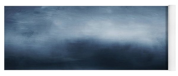 Azul 2- Art By Linda Woods Yoga Mat
