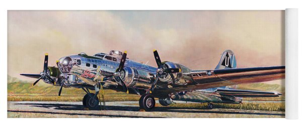B-17g Sentimental Journey Yoga Mat