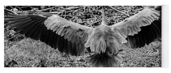 Time To Spread Your Wings Yoga Mat