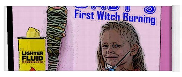 Baby's First Witch Hunt Yoga Mat