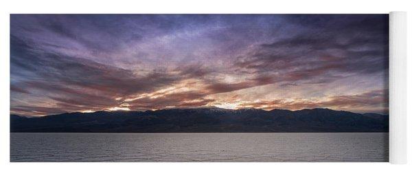 Badwater Basin Salt Flats Death Valley California Yoga Mat