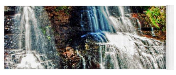 Balckwater Falls - Closeup Yoga Mat