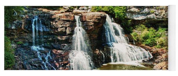 Balckwater Falls - Wide View Yoga Mat