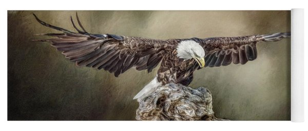 Bald Eagle Landing Yoga Mat
