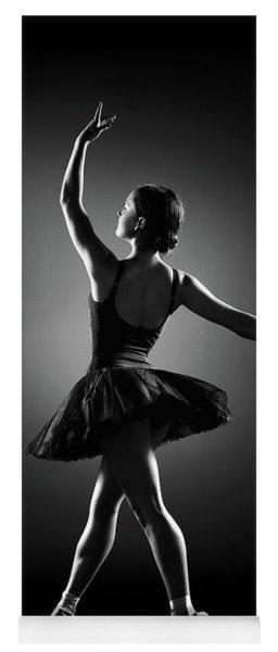 Ballerina Dancing Yoga Mat