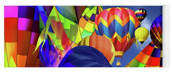 Balloon Festival Yoga Mat