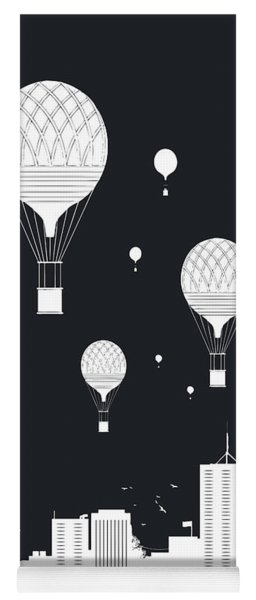 Balloons And The City Yoga Mat