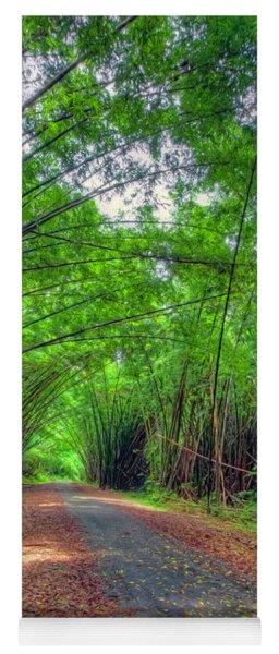 Bamboo Cathedral 2 Yoga Mat