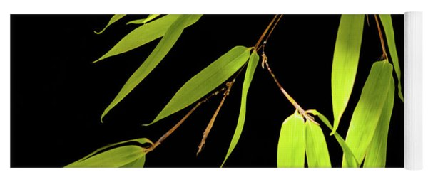 Bamboo Leaves 0580a Yoga Mat