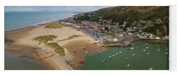Barmouth Wales From The Air Yoga Mat