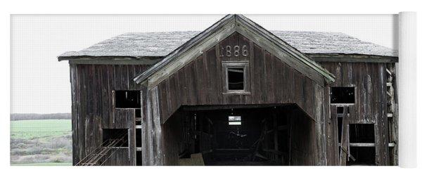 Barn 1886, Old Barn In Walton, Ny Yoga Mat