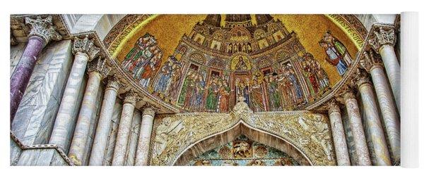 Basilica Di San Marco Yoga Mat