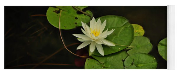 Bass Lake Water Lily Yoga Mat