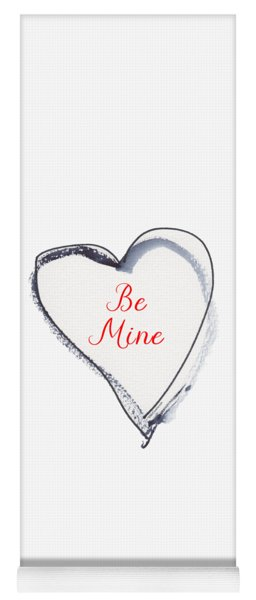 Be Mine Yoga Mat
