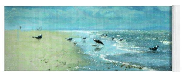 Beach Blues IIi Yoga Mat