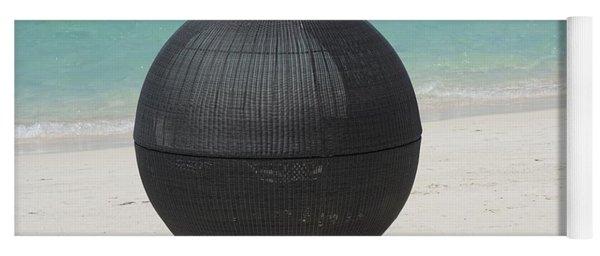 Yoga Mat featuring the photograph Beach Chair by Jimmy Clark
