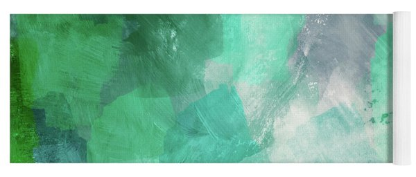 Beach Glass 3- Art By Linda Woods Yoga Mat