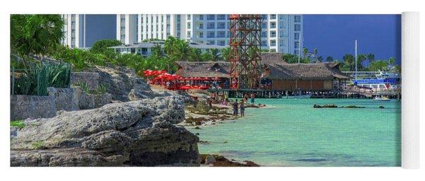 Beach Life In Cancun Yoga Mat