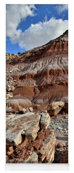 Beautiful Boulder And Dune In San Rafael Desert Yoga Mat