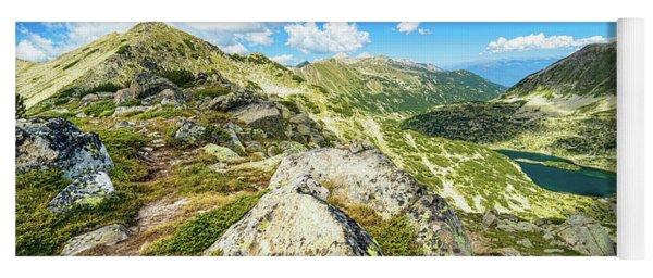 Beautiful Landscape Of Pirin Mountain Yoga Mat