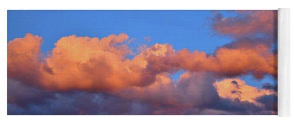 Beautiful Sunset Over Colorado Yoga Mat