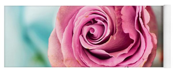 Beautiful Vintage Rose Yoga Mat