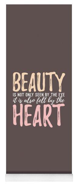 Beauty Heart Yoga Mat
