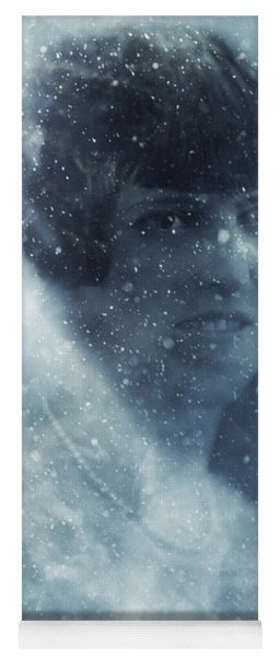 Beauty In The Snow Yoga Mat
