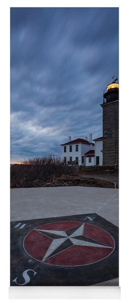 Beavertail Lighthouse Yoga Mat