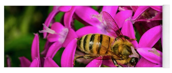 Bee Beautiful Yoga Mat