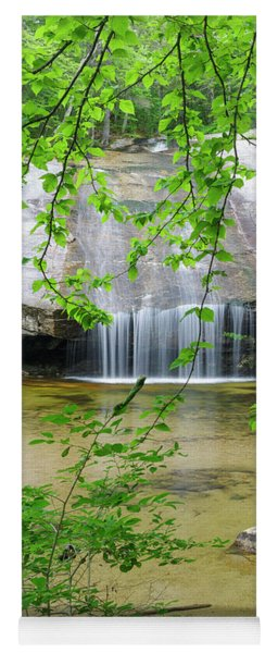 Beede Falls - Sandwich Notch, New Hampshire Yoga Mat