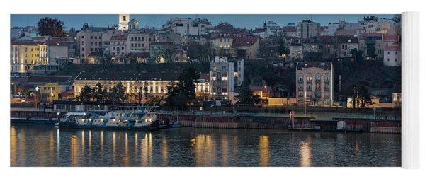 Belgrade Skyline And Sava River Yoga Mat