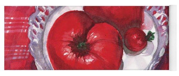Bella Tomatoes Yoga Mat