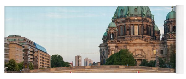 Berliner Dom And River Spree In Berlin Yoga Mat