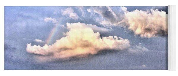 Between Clouds Yoga Mat