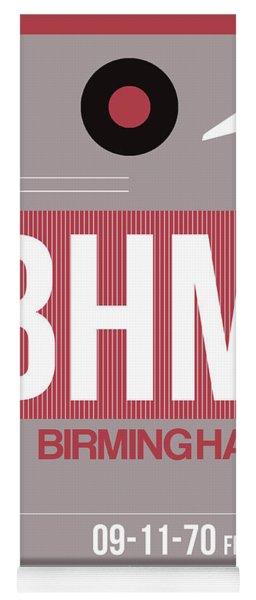Bhm Birmingham Luggage Tag II Yoga Mat