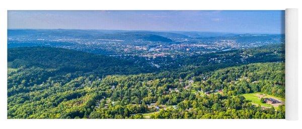 Binghamton Aerial View Yoga Mat