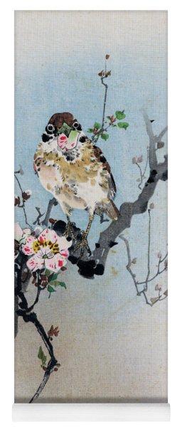 Bird And Petal Yoga Mat