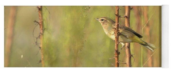 Bird On Branch Yoga Mat