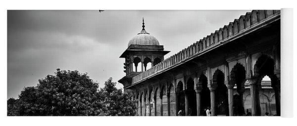 Birds Over The Jama Masjid Yoga Mat