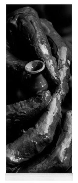 Birth Of A Clay Pot Yoga Mat