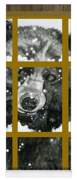 Black Bear, Outside My Window Yoga Mat