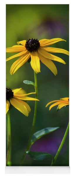 Black Eyed Susan Yoga Mat