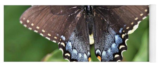 Black Swallowtail Beauty Yoga Mat