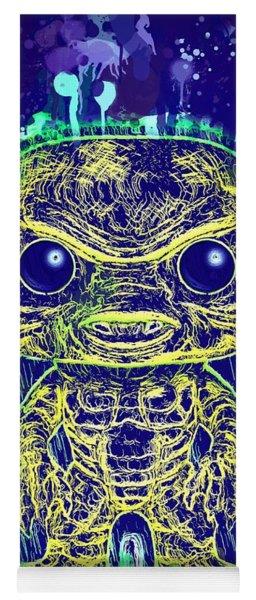 Creature From The Black Lagoon Pop Yoga Mat