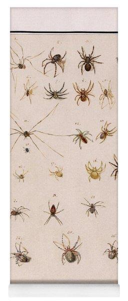 Blad Met Spinnen Yoga Mat
